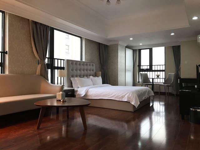 常州恺瑞居国际服务式酒店公寓@一房行政房 - Changzhou - Apartamento com serviços incluídos