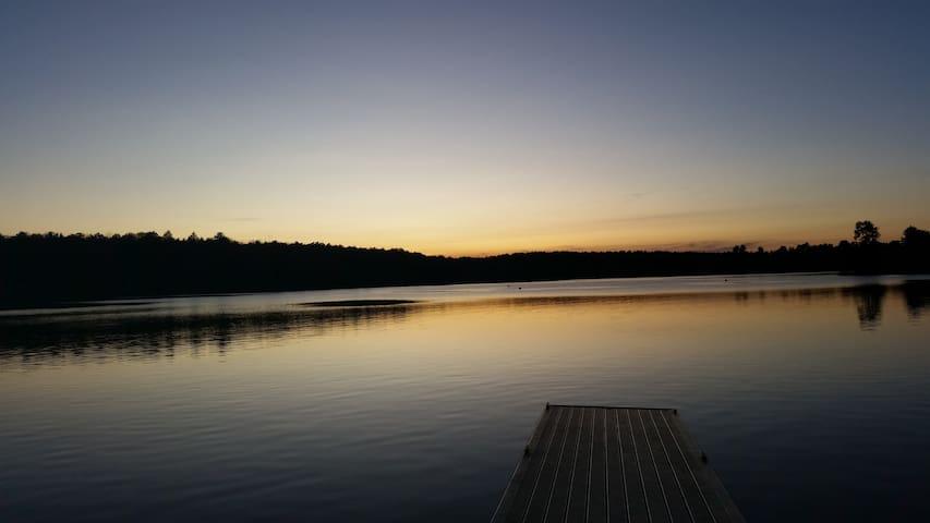 White lake, kauneonga lake spring summer fall