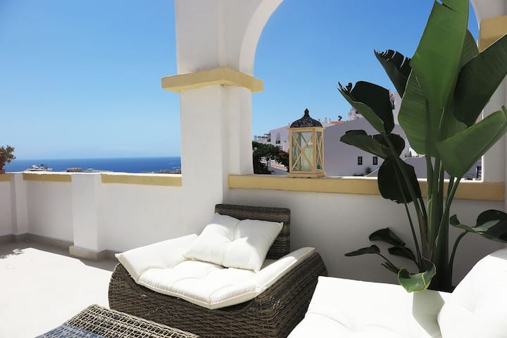 Luxury apartment ocean view Costa Adeje
