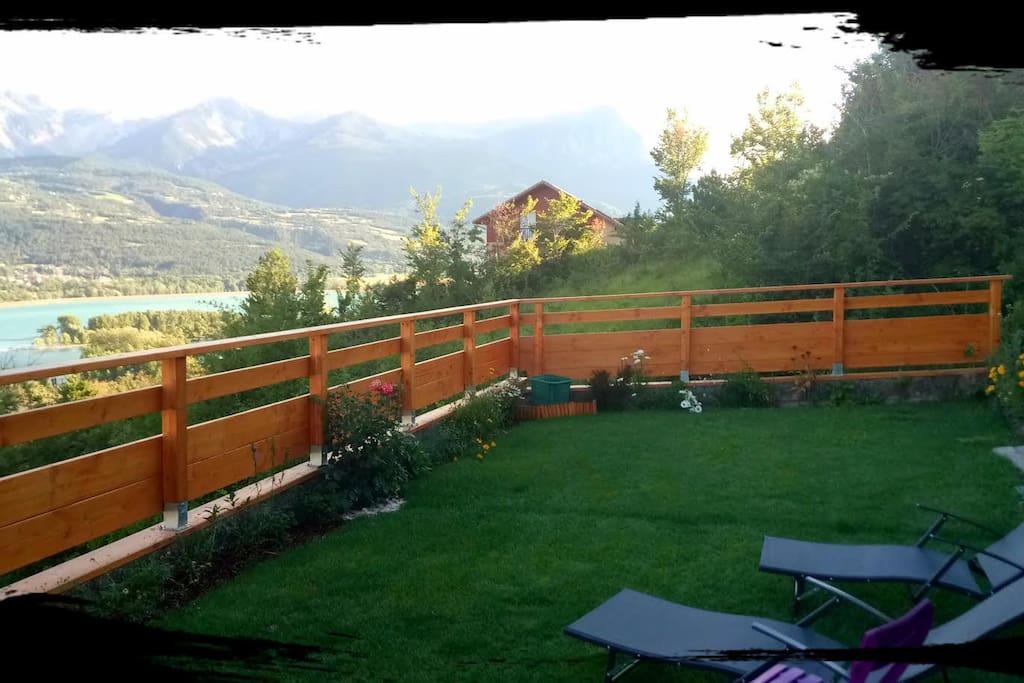 Terrasse  Jardin Privé