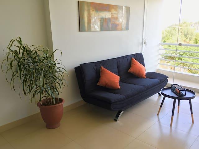 Beautiful Flat / Very Secure Condo, Pool and Gym - Piura - Apartament