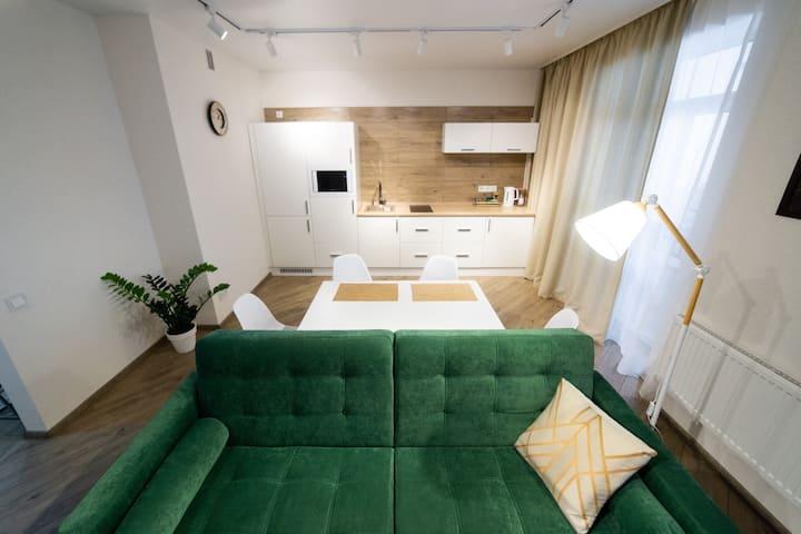 Современная квартира для деловых людей
