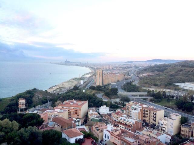 Barcelona - Montgat Ocean view apartment - Montgat - Byt
