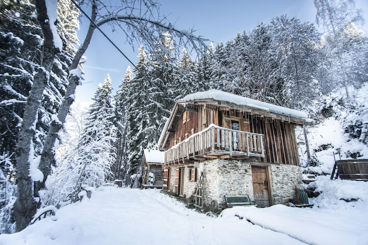 A Unique mountain hideaway: Ski Chalet Fnet