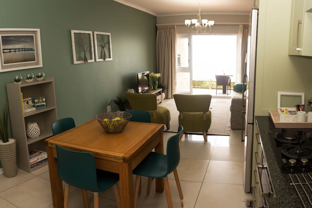 Panoramic view of Lounge/Dining/Kitchen