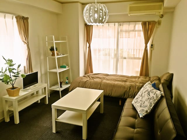 Snug Studio at Fantastic LocationT27 - Fukuokashi-chuoku - Apartamento