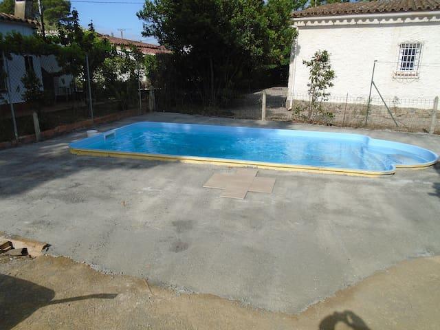 Casa con piscina - El Mas Boscà