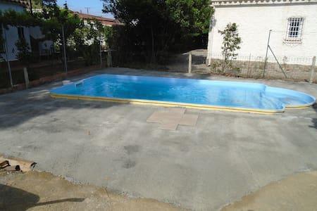 Casa con piscina - El Mas Boscà - Dom