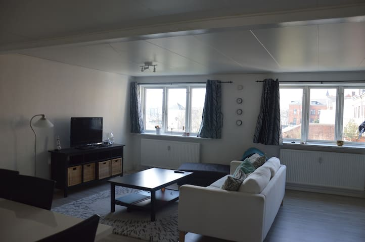 Spacious apartment in the center of Nyborg