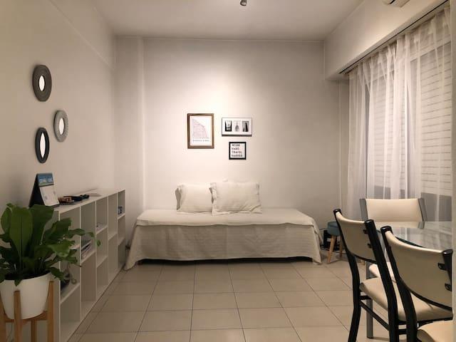 Departamento 2 ambientes V. Crespo-Palermo Queens