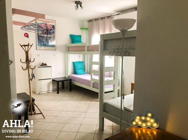 Ahla Dive Villa - Mixed Dormitory Room