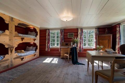 Vecā lauku māja no 1750. gada, lauku māja. (OSL)