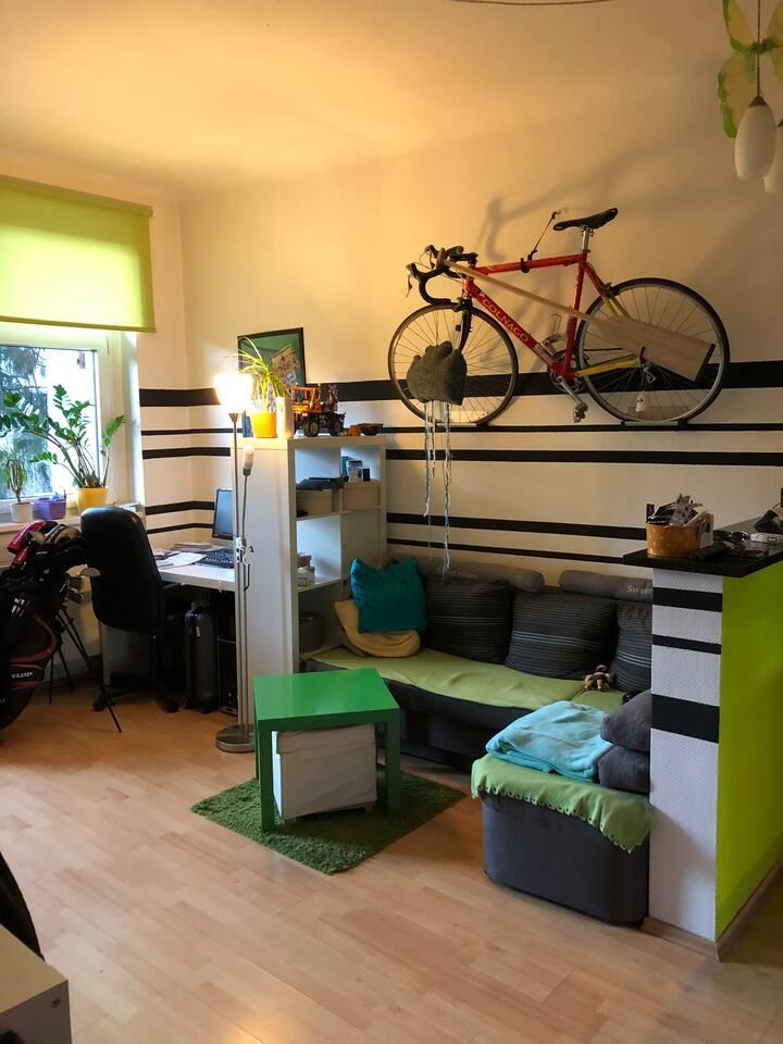Niedliche kleine 1,5 Raum Wohnung
