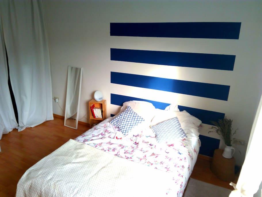 Bett für 2 (200x140cm)