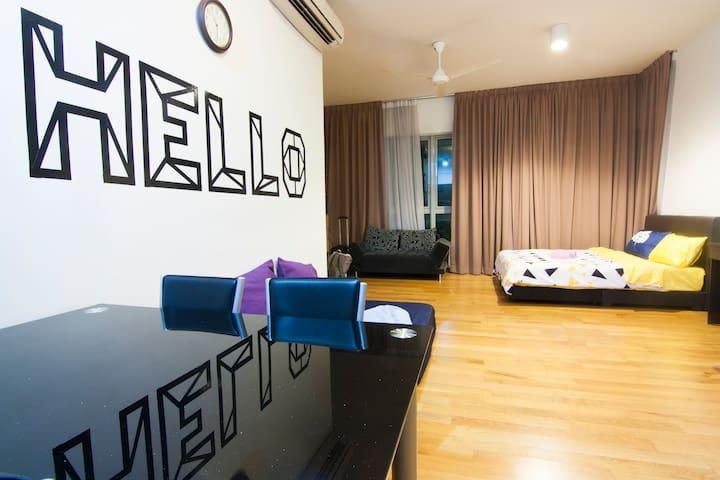 """HELLO"" High Floor Studio @ Regalia, KL Center"