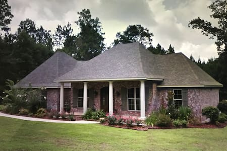 Author's Winter Retreat, Southern Golf Course Home - Wiggins
