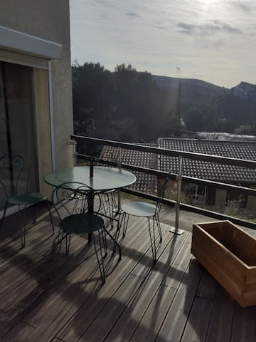 Appartement independant 48m² 4  personnes lumineux