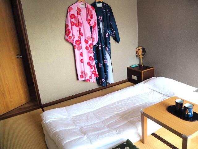 Japanese-style single room B203[Fujinoya]