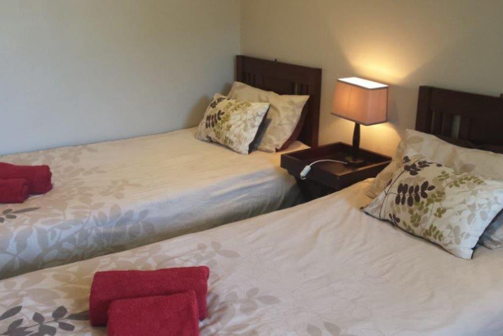 Seaside Cottage 2 - Second bedroom