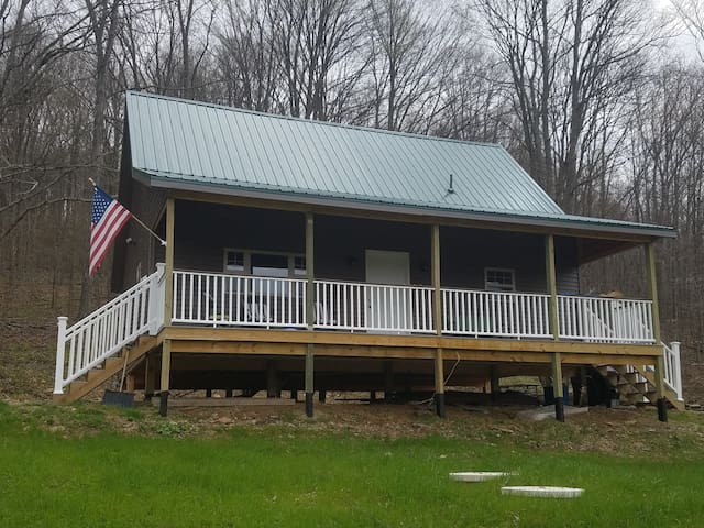 Cabin with 600 Private Acres, Fishing, & Trails.
