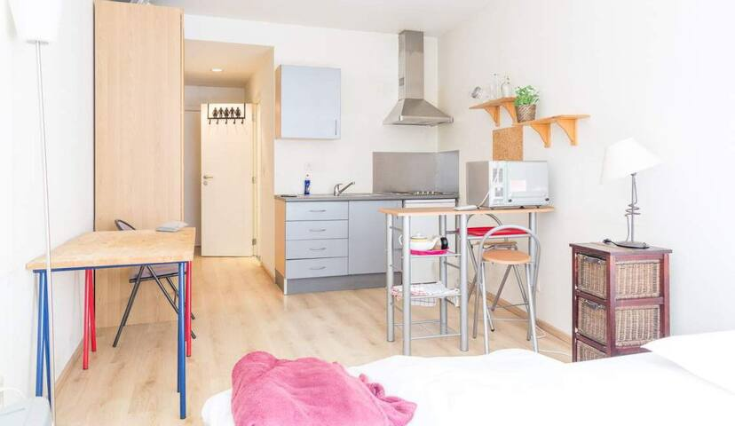 Cosy studio in the heart of Ixelles