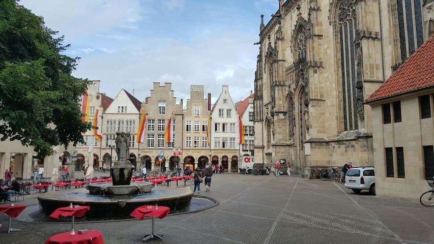 Münstersdachstuebchen - Münster - Apartament