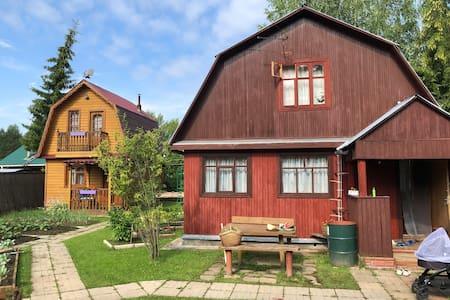 Дачный домик с русской баней