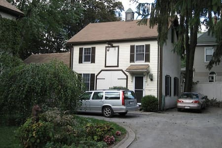 Charming 3 room apt in 1870 carriage house