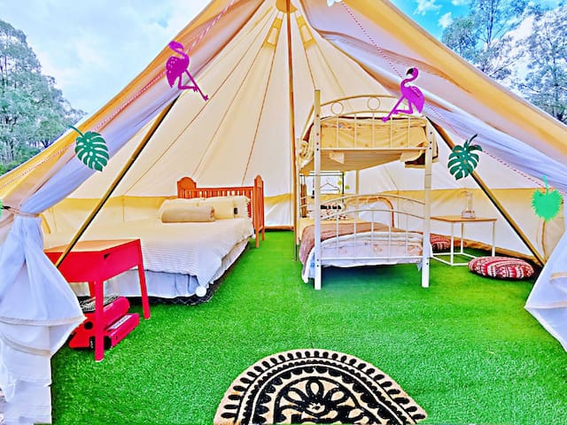 Wonderwander Glamping hunter valley Luxury Tent 6