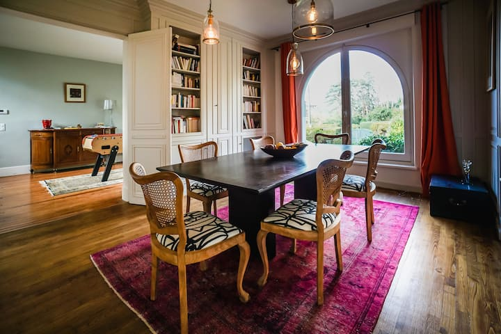 LE DOMAINE • KEYWEEK Basque villa with pool and garden Biarritz