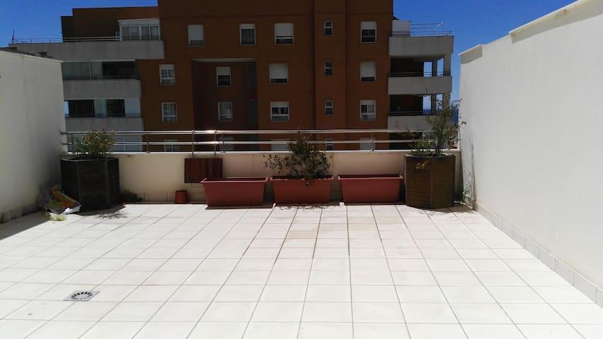 Terraza privada / Private Terrace