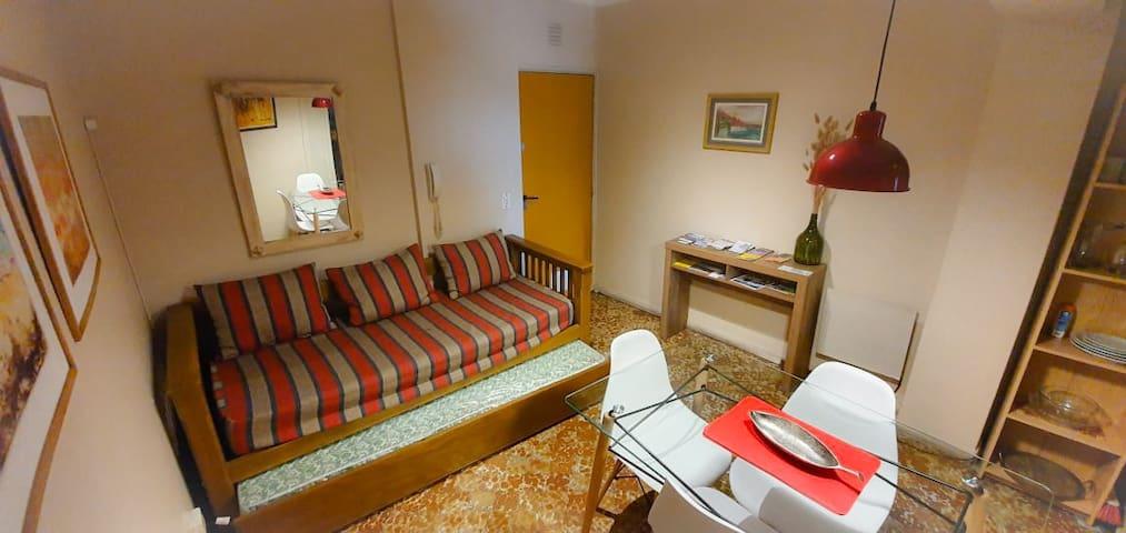 Confortable apartamento en microcentro + Wi Fi