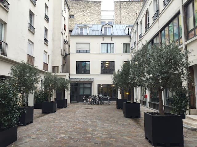 Relaxing Loft-Marais Bastille-You'll love it here!