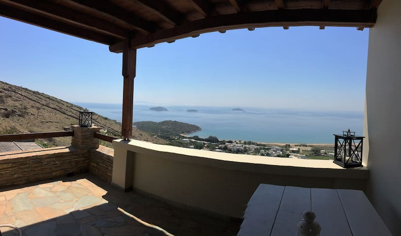 Philoxenia A, stunning sea view, perfect location - Kato Agios Petros - Huis