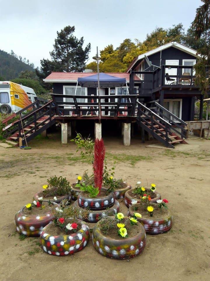 Cabaña 2 del Conjunto  Cabañas Selva Negra