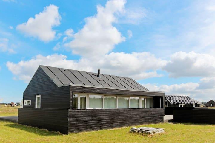 Maison de vacances paisible à Brovst avec sauna