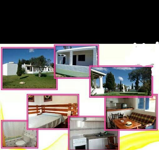 Isla bonita Habitación privada a 2' de la playa - Sant Ferran de Ses Roques - Haus