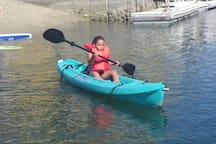 First time trying the Kayak