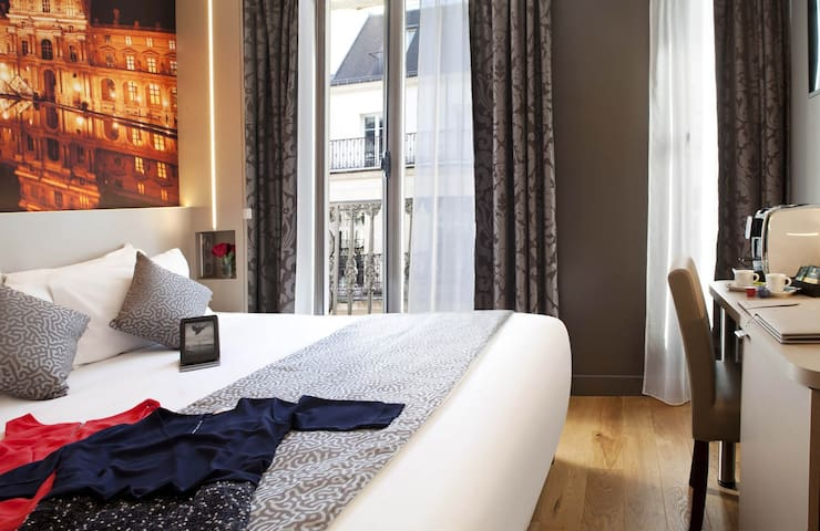 Luxurious suite with terrace and private sauna