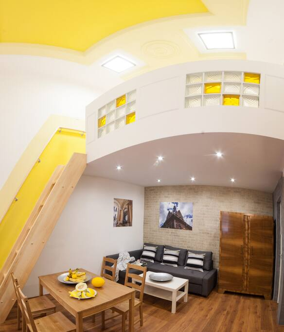 Living room + gallery