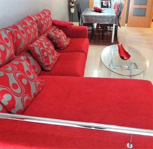 Apartamento moderno ideal para familias - L'Hospitalet de l'Infant