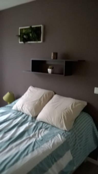La première chambre (lit double)