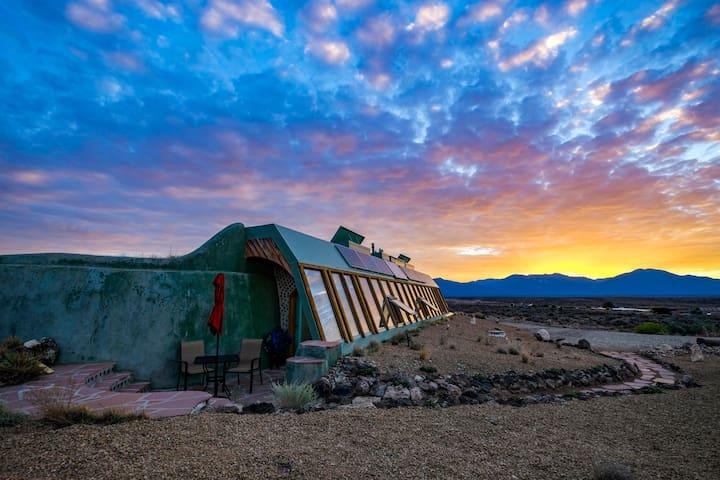 Spectacular Taos Earthship