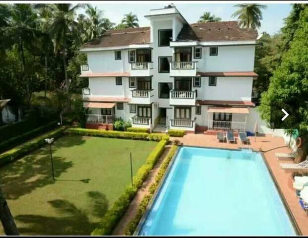 Single room in a resort in Candolim - Candolim