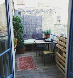 Jolie petite chambre pleins centre - Nîmes - Appartement