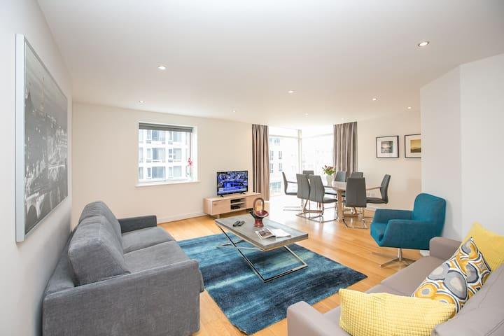 Dublin City Centre Spacious 3 Bedroom Apartment