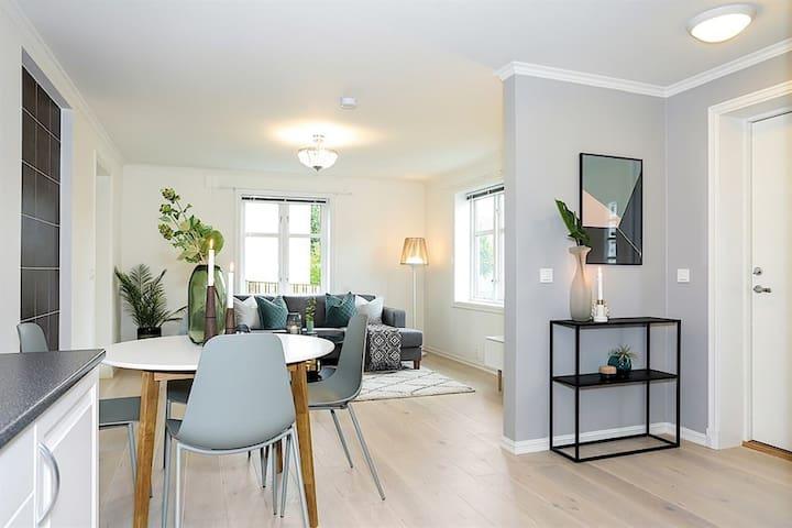 Nyrenovert leilighet/sentralt og rolig nabolag.