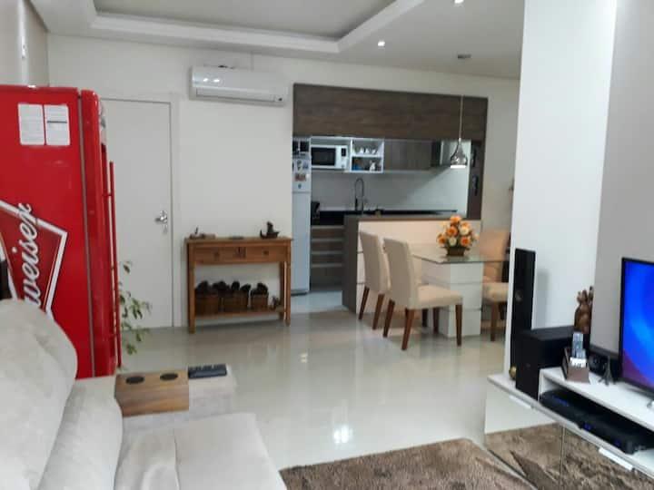 Ótimo apartamento térreo pátio lado novo shopping
