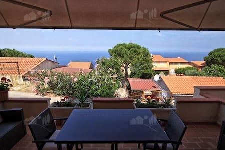 Bellissimo Bilocale con splendida vista mare - Patresi - Wohnung