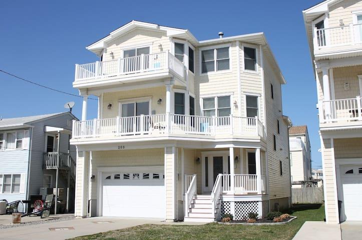 Luxury Brigantine Beach house - 3rd from beach!